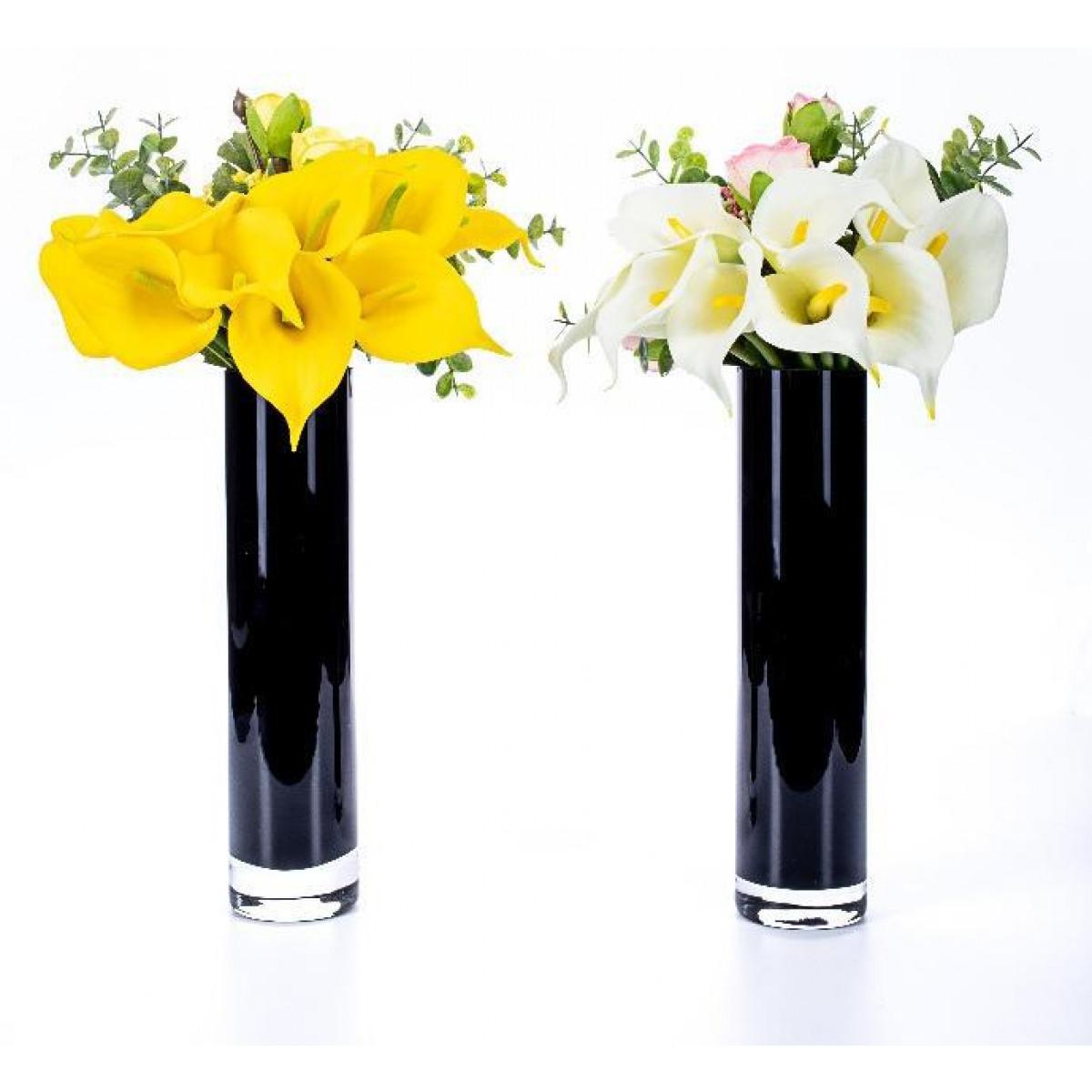 9 Calas Rosas Y Panículas Arreglos Florales Varios