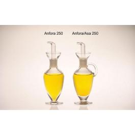 Aceitera Ánfora 250 cl. Tapón PTF sin asa