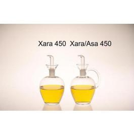 Aceitera Xara 450 ml Tapón PTF con asa