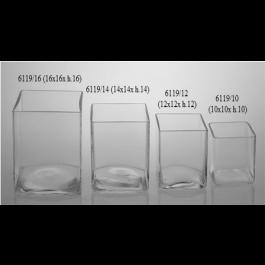 Cuadrado 6119/10 (10 x 10 x H 10 cms)