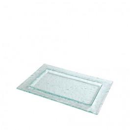 Plato Ártico Glass 19x30