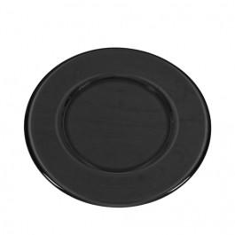 Plato presentación color gris diámetro 33 cms