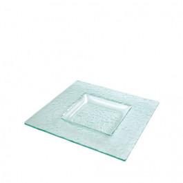 Plato Sopa Ártico Glass 27x27