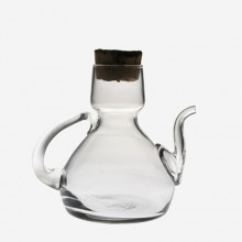 Aceitera Catalana tapón corcho- 250 ml transparente
