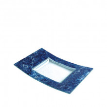 Plato Arco Bluemarble 19x30