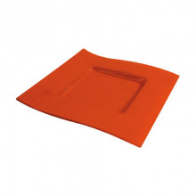 Plato Presentación Leve Orange 31x31