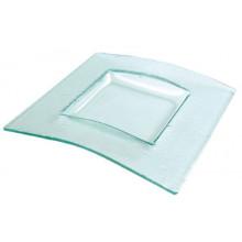 Plato Sáhara Glass 27 x 27 cms